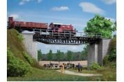 Железнодорожный балочный мост