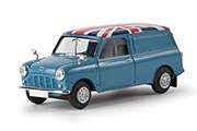 "Автомобиль Austin Mini Van ""Union Jack"""
