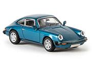 Автомобиль Porsche 911 G-Reihe, синий металик