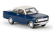 Автомобиль Opel Kadett A Coupe, синий