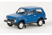 Автомобиль ВАЗ-2121 Нива, синий