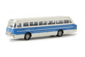 Автобус Ikarus 55, синий