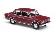 Автомобиль ВАЗ-2106 Жигули. Темно-красный