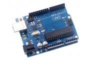 Контроллер UNO R3 ATmega328p Atmega16 USB-B Arduino классический