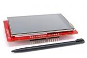 "Дисплей 3.2"" 240x400 TFT SPI Тачскрин UNO & Mega шилд"
