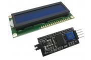 Дисплей Символьный LCD1602 I2C Синий