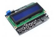 Шилд 1602 LCD дисплей синий с кнопками