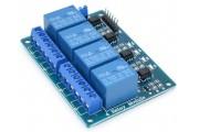 Модуль Реле 5В, 4 канала с опторазвязкой