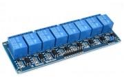 Модуль Реле 5В, 8 каналов с опторазвязкой