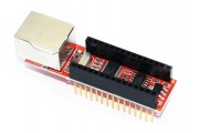 Ethernet шилд ENC28J60 для Arduino Nano