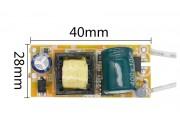 Драйвер LED 8-12*1W 300 ma AC220V