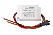 Драйвер LED 3*1W 300 ma AC220V в корпусе