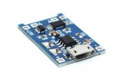 Micro USB Контроллер заряда-разряда литиевых аккумуляторов
