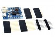 Шилд D1 контроллер заряда-разряда литиевых аккумуляторов