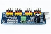 Драйвер сервоприводов PCA9685 16 каналов ШИМ I2C