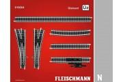 Комплект рельс U2 цифровой. Масштаб N