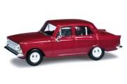 Автомобиль Москвич 408, красный