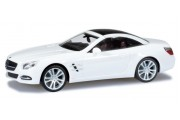 Автомобиль Mercedes-Benz SL-класс, белый