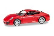 Автомобиль Porsche Carrera, красный