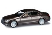 Автомобиль Mercedes-Benz S-class, коричневый металик