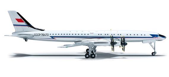 Самолет Tupolev Ту-114 Aeroflot