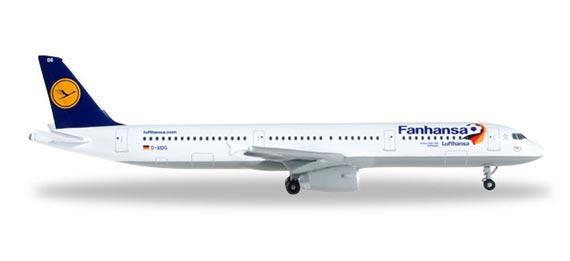 Самолет Airbus A321 Lufthansa
