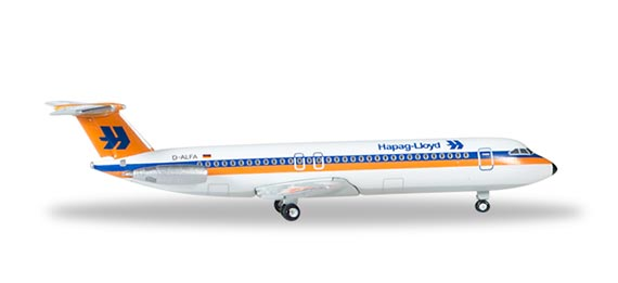 Самолет  BAC 1-11-500 Hapag Lloyd
