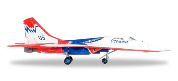 Самолет Mikoyan Gurevich MiG-29 Strizhi Aerobatic Team