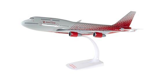 Самолет Boeing 747-400 Rossiya Airlines