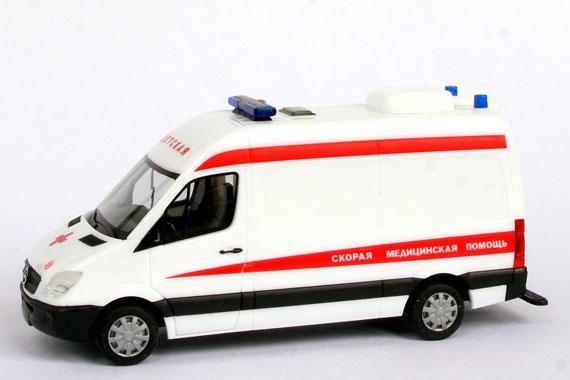 """Автомобиль Mercedes-Benz Sprinter """"Скорая помощь Детская"""""""