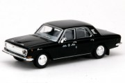 """Автомобиль ГАЗ-24 """"Такси"""", черный"""