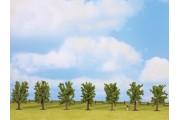 Лиственные деревья, 7 шт., 8 см