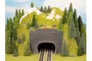Радиусный тоннель двупутный, 23х22х12 см
