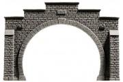 Портал тоннеля, 2 пути