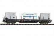 Платформа с контейнерами, тип Rgs-z 3910