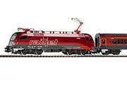 Электровоз Rail Jet и пассажирский состав