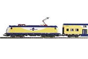 Электровоз BR 185 и пассажирский состав Metronom