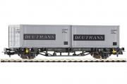 Платформа с контейнером Deutrans