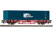 Платформа с контейнером Transcontainer