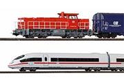 ICE 3 и Тепловоз G1206 с грузовым составом