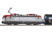 Электровоз BR 193 Vectron PKP с грузовым составом