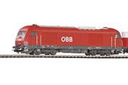 Тепловоз Herkules ER20-002 и грузовой поезд