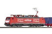 Электровоз BR 189 и грузовой поезд