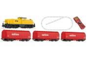 Тепловоз Serie 6494 и грузовой поезд