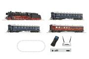Пассажирский поезд с паровозом BR 01, звук