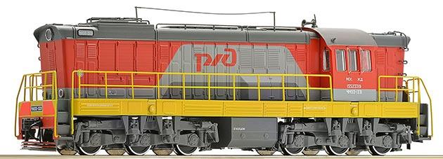 Дизельный локомотив ЧМЭ3-1331, РЖД, Звук