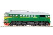 Дизельный локомотив M62, звук